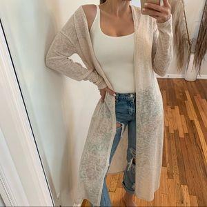 LAST • Cleo Knit Duster, Cream